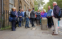 Pubs and Pirates London Walk, September 2015