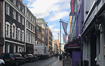Sex, Drugs & Rock 'n' Roll - Soho London Walk, November 2018
